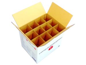 zoom cartons d m nagement 24 verres 12 bouteilles 12 assiettes d menago. Black Bedroom Furniture Sets. Home Design Ideas